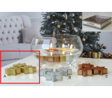 Lima Floating Star Candle Glitter Gold 4 Pieces