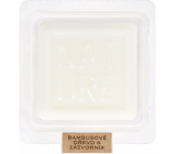 Heart & Home Nature Bamboo wood and ginger fragrant wax 26 g