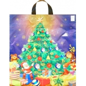 Press Plastic bag 47 x 41 cm with handle Christmas tree 1 piece