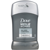 Dove Men + Care Silver Control 48h antiperspirant deodorant stick for men 50 ml