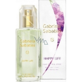 Gabriela Sabatini Happy Life EdT 20 ml eau de toilette Ladies