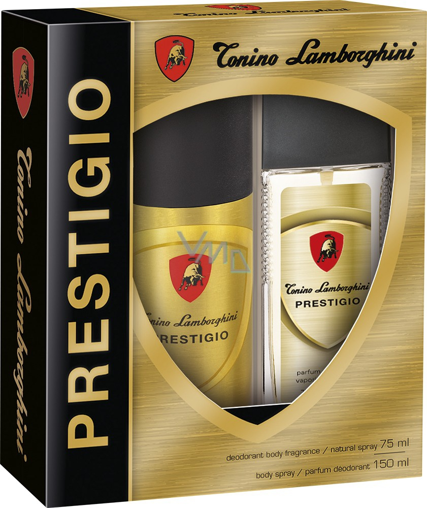 c10dbb703fc Tonino Lamborghini Prestigio perfumed deodorant glass for