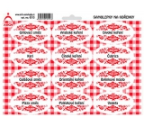 Arch Spice stickers with red ornament Grilling mixture - spice mixtures (common)
