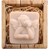 Bohemia Gifts & Cosmetics Angel handmade toilet soap in a box of 80 g