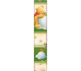 Ditipo Vánoční balicí papír dětský zelený Medvěd koule 100 x 70 cm 2013900 2 kusy