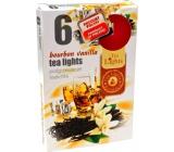 Tea Lights Bourbon Vanilla with the scent of bourbon and vanilla scented tealights 6 pieces