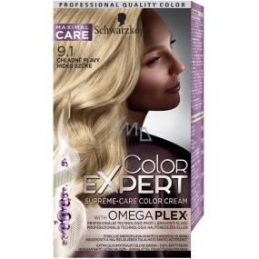 Schwarzkopf Color Expert barva na vlasy 9.1 Chladně plavý
