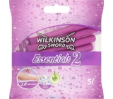 Wilkinson Essentials 2 disposable razor 2 blades 5 pieces