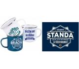 Albi Tin mug with the name Standa 250 ml
