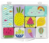 Albi Set of epoxy magnets Fruit 9 pieces