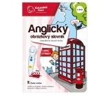 Albi Kouzelné čtení interaktivní mluvící kniha Anglický obrázkový slovník