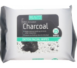Beauty Formulas Charcoal Activated carbon make-up wipes 25 pieces