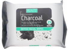 Beauty Formulas Napkins Napkins with Activated Charcoal 25pcs 2522