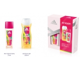 Adidas Get Ready! for Her Eau de Parfum 75 ml + 250 ml shower gel, cosmetic set