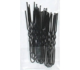 Duko Hairpin black 6.5 cm 20 pieces 652B