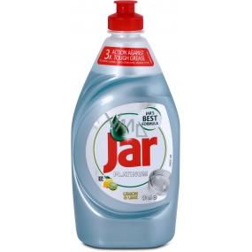 Jar Platinum Lemon & Lime Hand dishwashing liquid 430 ml