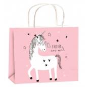 Bag year-round gift for children M horizon pink horse 23x18x10cm