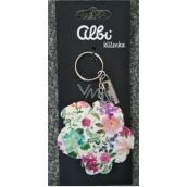 Albi Original PVC keyring Hydrangea 11 cm