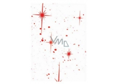Ditipo Cellophane in a red star roll 250 x 70 cm