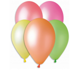 Balloons Neon mix of colors 26 cm 10 pieces