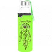 Nekupto Don't plastic Glass drinking bottle I have big dreams 500 ml