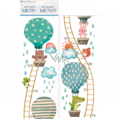 Wall stickers children's meter Animals in a balloon up to 120 cm