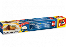 Fino 2in1 baking paper and foil, length 5 meters