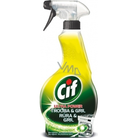Cif Ultra Power Oven & Grill Cleaning Spray 500 ml