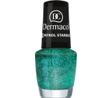 Dermacol Nail Polish with Effect Glitter Touch Nail Polish with Effect 19 Petrol Stardust 5 ml