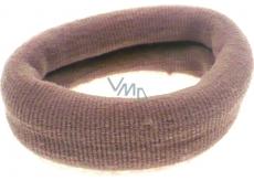 Hair band beige 6 x 2 cm