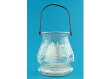 Glass lantern 9,5 cm
