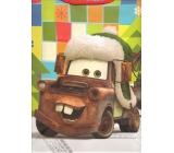 Nekupto Dárková papírová taška velká 33 x 26 x 13 cm Cars McQueen vánoční 1190 WLGL