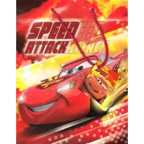 Ditipo Disney Dárková papírová taška dětská L Cars Speedeed 32,5 x 13,5 x 26,3 cm 2902 006