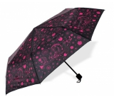 Albi Original Deštník Premium Růžové květy 24 x 4 cm