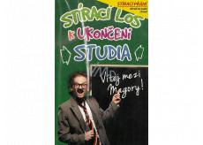 Nekupto Scratch card to finish the study Scratch card 21.5 x 13.5 cm G 51 3350