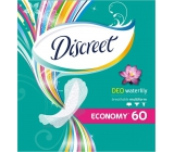 Discreet Deo Waterlily brief intimate pads for everyday use 60 pieces