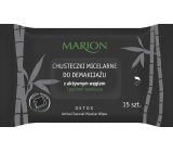 Marion Detox Active Charcoal micellar wet make-up wipes 15 pieces