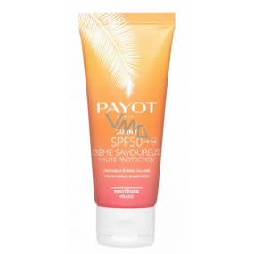 Payot Sunny Creme Savoureuse SPF 50 invisible sunscreen - high face protection 50 ml