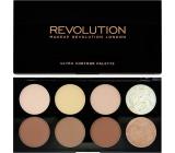 Makeup Revolution Ultra Contour Palette Palette for Face 13g