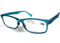 Berkeley Optical reading glasses +1.0 plastic turquoise green mat 1 piece MC2 ER4040