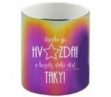Albi Rainbow mug You are a star 360 ml