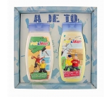 Bohemia Gifts Kids Pat a Mat - Carpenters hair shampoo 250 ml + shower gel 250 ml, for children cosmetic set