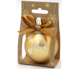 Nekupto Christmas balls Best dad 11 x 6 cm