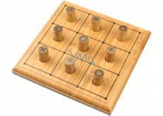 Albi Bamboo mini-games Five-in-a-row board game for 2 players