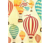 Nekupto Gift paper bag 18 x 23 x 10 cm Balloons 1877 01 KFM