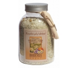 Bohemia Gifts Chamomile and thyme and marigold and their healing effects bath salt 1.2 kg