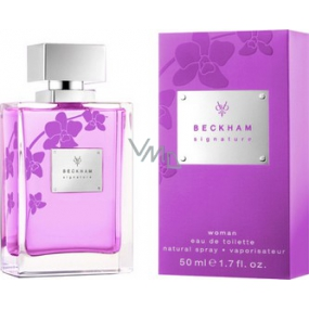 David Beckham Signature for Her toaletní voda 50 ml