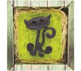 Bohemia Gifts & Cosmetics Kočka ručně vyráběné toaletní mýdlo v krabičce 100 g