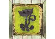 Bohemia Gifts & Cosmetics Cat handmade toilet soap in a box 100 g