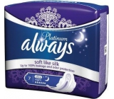 Always Platinum Ultra Night Hygiene Inserts with Wings 7 Pieces